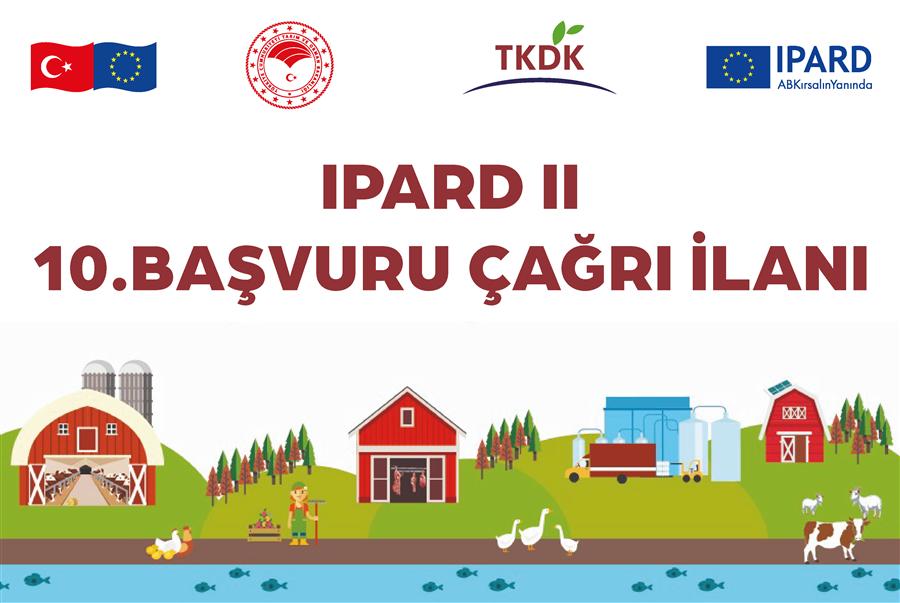 Tarım ve Kırsal Kalkınmayı Destekleme Kurumu 2014-2020 IPARD Programı( IPARD II Dönemi)